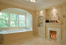 Faux Fireplaces and more / Love these ideas!!