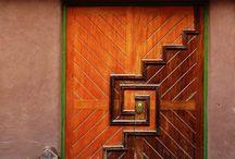 Arkitekturdetaljar og farge