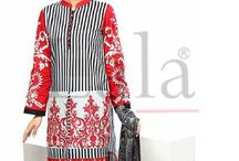 Sana Samia Kurti Wiith Stole Collection