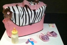 Baby Shower Cakes / Custom baby shower cakes created by My Daughter's Cakes in Dumont, New Jersey