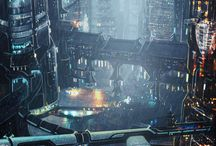 Cyberpunk Architecture