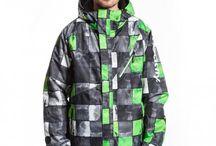 Snowboard - Zelené oblečení / Mé oblečení na snowboard. Nejlépe značky Meatfly :)