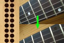 "Dot / inlay sticker ""Dot"" guitar/ukuele decals"