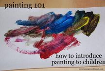 Art for Infants and Toddlers / by Jil Loewit