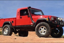 Jeeps - Awesome, Customized, Off Road Fun / Jeep suspension lift kits, off road tires, wheels, winches, fender flares, interior and exterior accessories, bumpers and more.