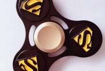 Superman Fidget Spinners