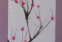 Art work Cherry Blossoms