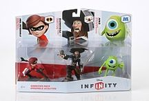 Disney Infinity / 3DS / Game pieces & Games I'd like to get for the Disney Infinity game and 3DS