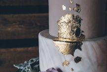 Purple Romantic Geode & Marble Wedding