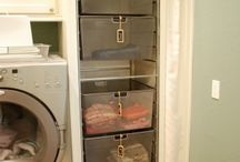 laundry and storage room / by Janessa Jones