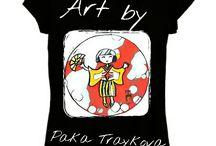 ART T-SHIRT$ by PAKA TRAYKOVA