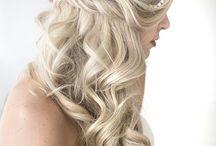 bruiloft hairstyle/makeup
