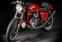 Cafe Racer Motorcycles / by bikerMetric