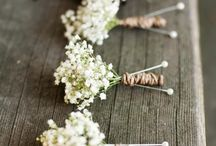 Wedding ideas / Ideas for the romantic wedding in rustic or bohemian style.