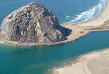 """Morro Bay & Pismo CA / My favorite beach getaway of all time! We spent many, many weekends here. """"A taste of home"""""""
