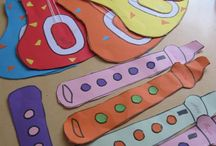 Musical instruments craft and project