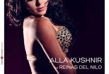 Alla Kushnir dressed by Reinas del Nilo / Alla Kushnir, amazing Ukraine bellydancer, in an exclusive photo sesion dressed by Reinas del Nilo. Make Up: Romi Nardelli PH: Fuentes2Fernandez Fotografias