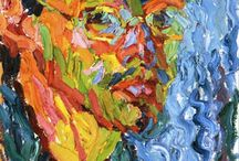 Schmidt-Rottluff / Storia dell'arte Pittura Xilografia  20° sec. Karl Schmidt-Rottluff  1884-1976
