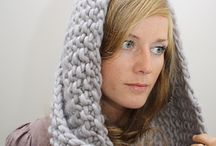 Knitting / Knitted scarf