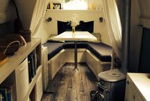 Narrowboat / Life on the water in this collection of narrowboats, canals and boat interiors.