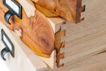 Wood Joinery / Joinery is simply how pieces of wood fit together. This board is dedicated to different examples of joinery.