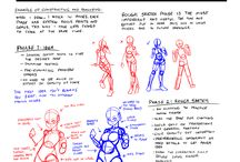 Drawing ~ body and poses / Anatomy, tutorials and inspiration. All kinds of body types.