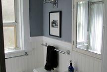 Bathroom 1920 style