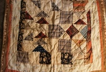 Doll Quilts / for inspiration, all small quilts that can be used for a dolly's bed, or as little wall quilts in the home