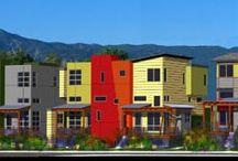 Architecture, interior, exterior and neighborhood aesthetics