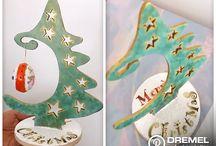 Decorando la Navidad / Nos adelantamos a la Navidad con este proyecto creado por nuestra Embajadora Dremel, Myriam Sandoval. Aprenderán la técnica de calado con la Dremel Moto-Saw para realizar un original árbol navideño decorativo.