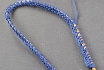 como tejer con agujas circulares