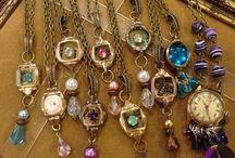 Vintage repurposed jewelry