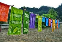 Fabric, dye / Fabrics, dye fabric / by Pellise Burns