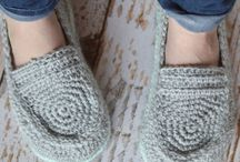free crochet slippers soles and upper