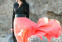 PLT- A Long story / Pretty little world of longer length & maxi skirts