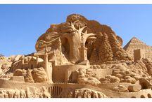 Sand Sculptures / Summer=beach=sand=sculptures!
