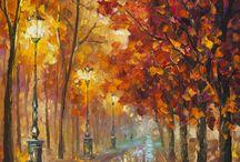 Leonid Afremov paintings