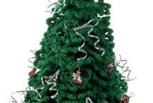 kerstboom gehaakt
