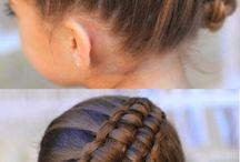 gymnastics hair