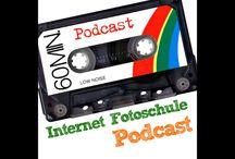 Podcasting / Podcasting und Internet Audio Sendungen.