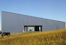Metal cladding homes