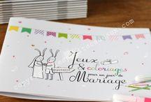 mariage jeux livret enfants