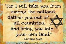 """Prophecy: Israel Aliyah -- Last Days  (God brings back the Jews to their own land) / PROPHECY BEING FULFILLED: IN THE 'LAST DAYS' GOD WILL GATHER ALL THE JEWS, FROM ALL COUNTRIES, TO RETURN TO THE LAND OF ISRAEL - (Ezekiel 34:13)  """"...And I will bring them out from the people, and gather them from the countries, and will bring them to their own land, and feed them upon the mountains of Israel by the rivers, and in all the inhabited places of the country."""""""