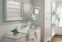 Laundry Room / Ideas for laundry/utility rooms.