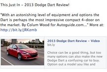 DODGE DART REVIEWS