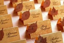 Wedding: Paper Items / Invitations, Programs, Table numbers, Place cards, Thank yous
