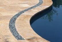 Tile & Coping around pools!
