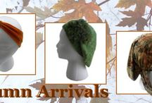 Fall Seaons Styles in Hair Accessories & Hats / It seems as though the colors that are in actually are the colors of the leaves on the trees in the Fall