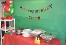 Birthday Party: Veggie Tales / Fun ideas for a Veggie Tales themed birthday party!  Definitely want to do this someday! - candleinthenight.com