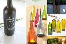Flaskor och burkar blir nya saker